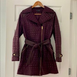 Via Spiga quilted double breasted coat size SMALL